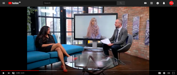 Our Founding CEO Asma on London Live!