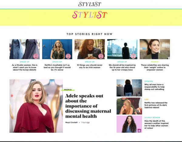 Our CEO Asma Shah is Stylist's Woman of the Week.